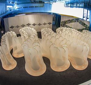 """Exposição """"A Experiência da Arte"""" no Sesc Santo André."""